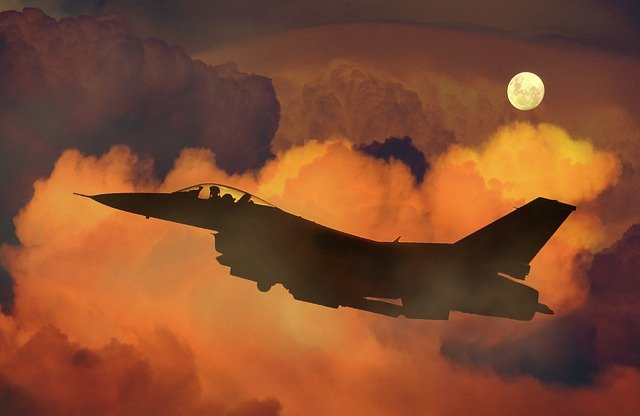 Fighter Jet to show the main business segment of Lockheed Martin